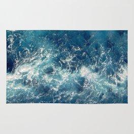 Sea splashes Rug