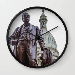 Michigan's War Time Governor Wall Clock