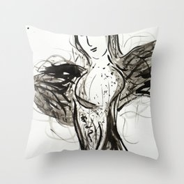 Bustier Throw Pillow
