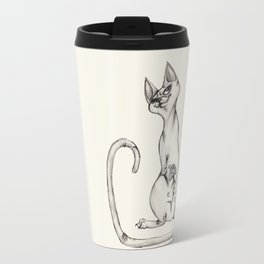 Cats with Tats v.1 Travel Mug