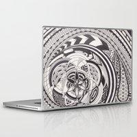 fibonacci Laptop & iPad Skins featuring Fibonacci Effect by SRC Creations