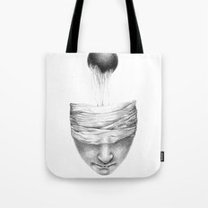 get your head out of the covers... Tote Bag
