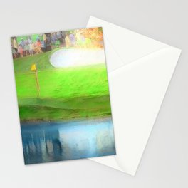 The Masters Golf - The Masters 16th Hole - Augusta National Stationery Cards