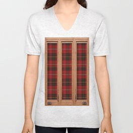 Its very scottish outside Unisex V-Neck