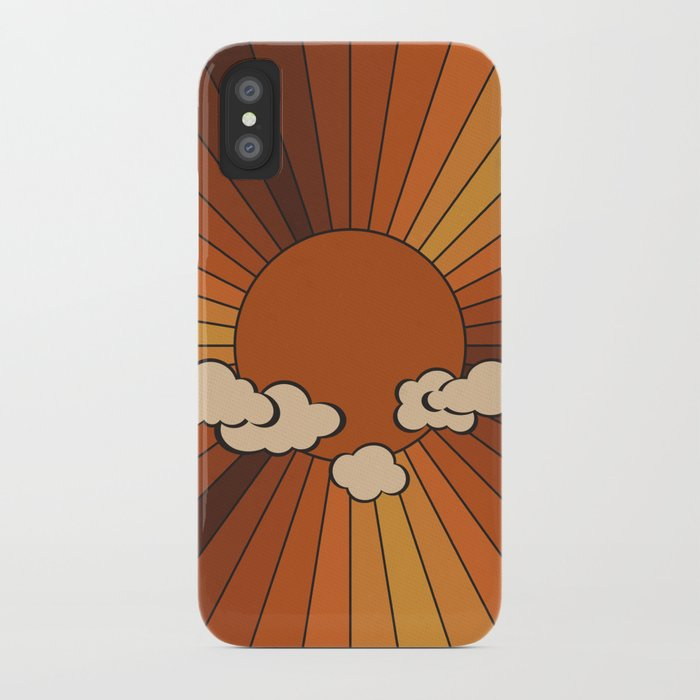 Retro Sunshine iPhone Case