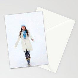 Enjoying Winter Stationery Cards