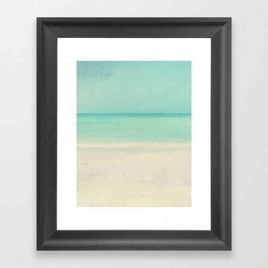 Ocean Dreams #2 LONG Framed Art Print