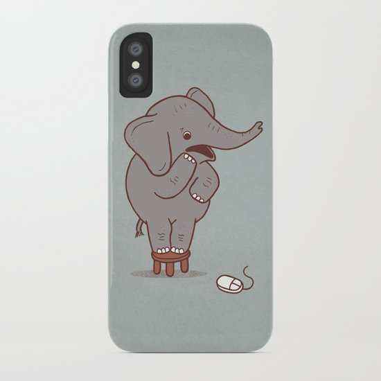 Irrational Fears iPhone Case