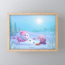 Don't Be Sad Framed Mini Art Print