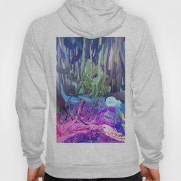 405 - Abstract Colour Design Hoody