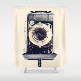 Vintage Kodak Monitor Six-20 Film Camera 1948-1951 Shower Curtain
