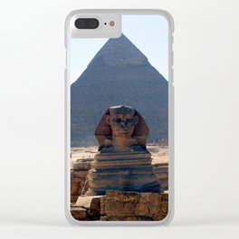 The Great Sphinx of Giza, Cairo, Egypt Clear iPhone Case