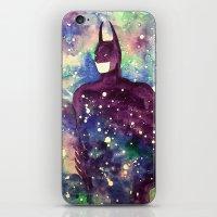 bat man iPhone & iPod Skins featuring bat by Beth Jorgensen