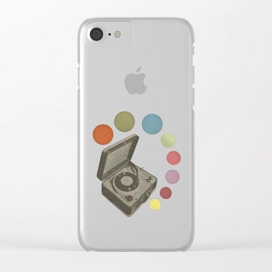 Pop Music Clear iPhone Case