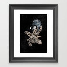 I Know Karate Framed Art Print
