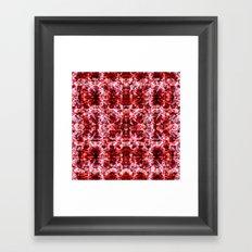 Spring exploit floral pattern Framed Art Print