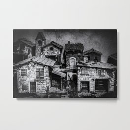 Italian little village Metal Print