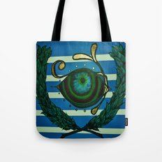 Eye, Greek Olive Tote Bag