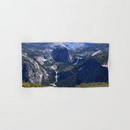 Vernal Falls And Nevada Falls Hand & Bath Towel
