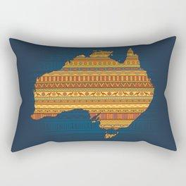 Australian map Rectangular Pillow