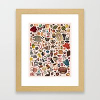 TABLE OF CONTENTS II Framed Art Print