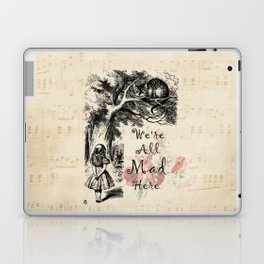 We're All Mad Here - Alice In Wonderland Laptop & iPad Skin