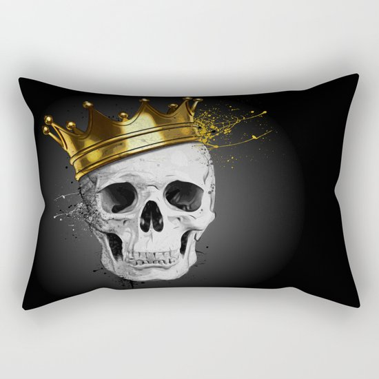Royal Skull Rectangular Pillow
