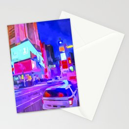Pop Art Times Square Stationery Cards