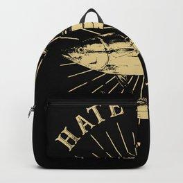 Tuna Love Hate People Backpack