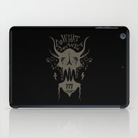 crowley iPad Cases featuring Do What Thou Wilt - Aleister Crowley by Sten backman