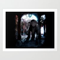 persian Art Prints featuring Persian Fantasy by Artworks by PabloZarate Inc.
