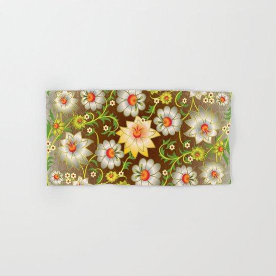 Shabby flowers #10 Hand & Bath Towel