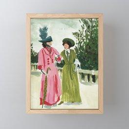 Fancy Ladies Framed Mini Art Print
