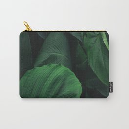 Green Nature Deep Leaves Carry-All Pouch