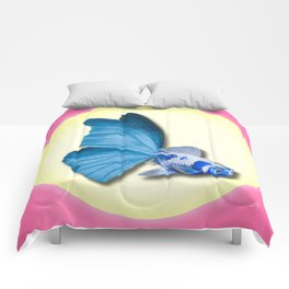THE BUTTERFLY FISH - Barbara Comforters