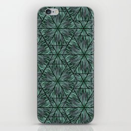 Ethnic ikat pattern. 4 iPhone Skin