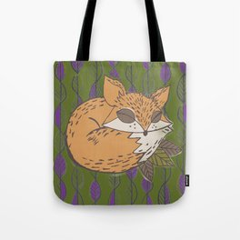 Fall Fox Tote Bag