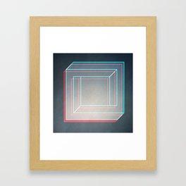 S'cubed Framed Art Print
