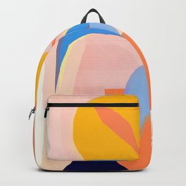 Abstract Tropical Still Life Backpack