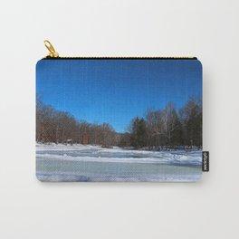 Oak Openings in Winter Carry-All Pouch
