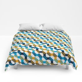 People's Flag of Milwaukee Mod Pattern Comforters