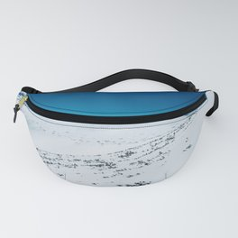 Blue sky and white snow Fanny Pack
