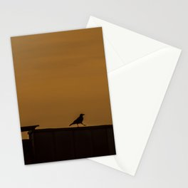 Walking Crow Stationery Cards