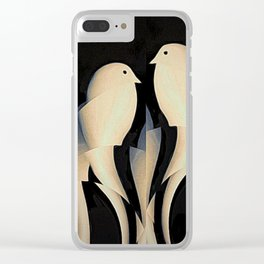 Paper Birds Clear iPhone Case