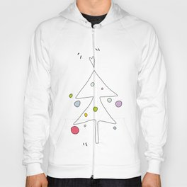 Cute Graphic Christmas Tree Hoody