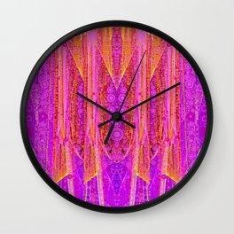 Delicate Serape Wall Clock