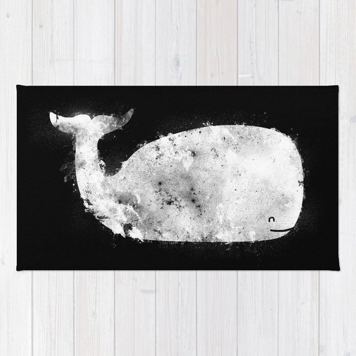 Bleached Whale Rug