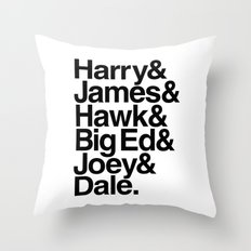 The Bookhouse Boys (White Lodge) Throw Pillow