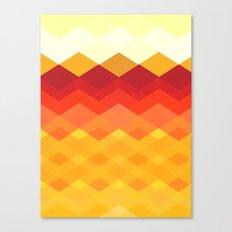 Against the Sun Canvas Print