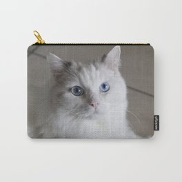 Ragdoll Cat Blue Eyes Carry-All Pouch